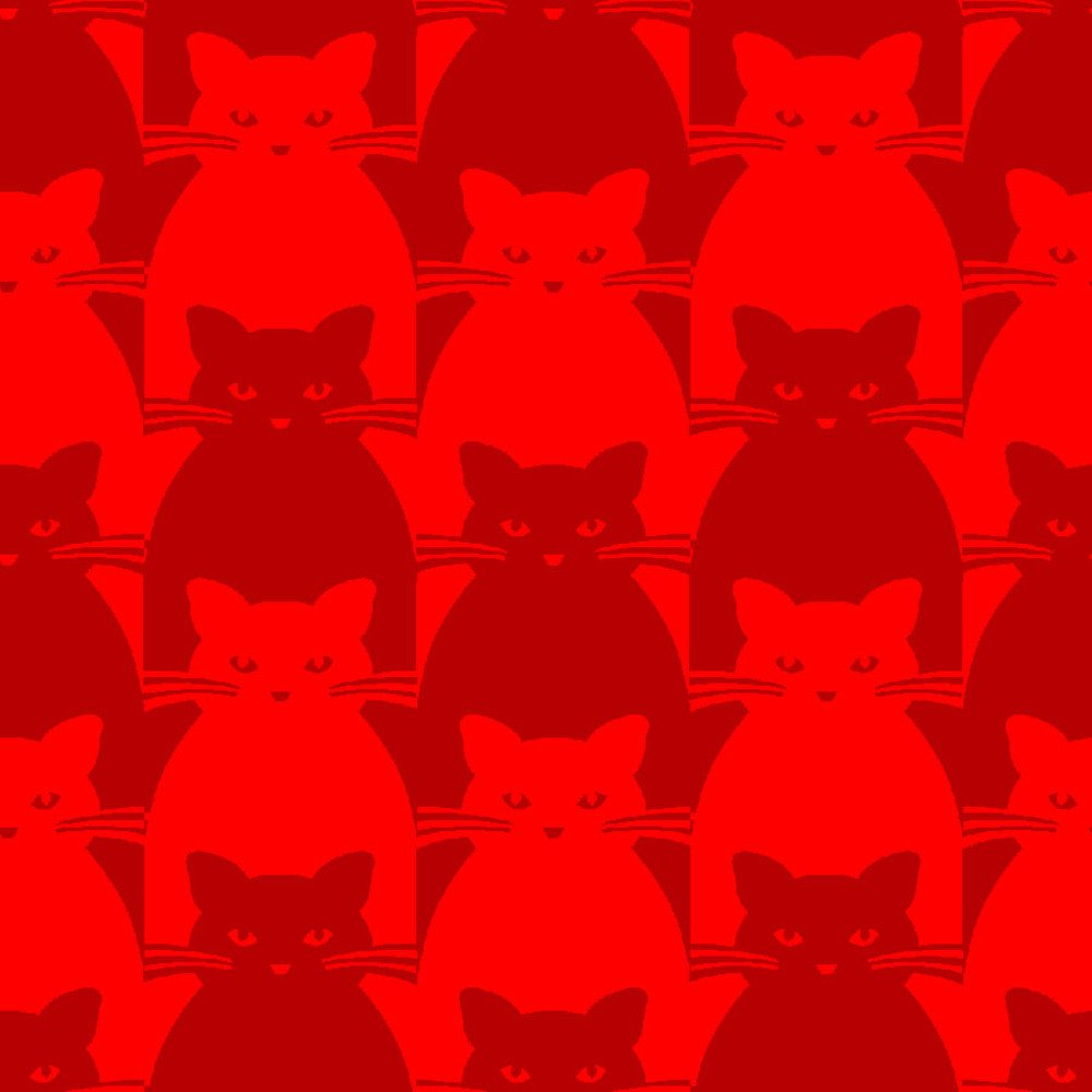 Blank Quilting Co. Kitty Kitty Red