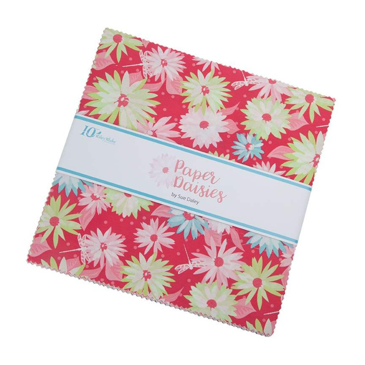 Paper Daisies 10 inch Stacker