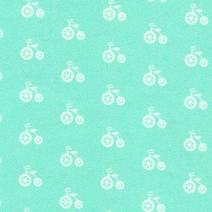 Cozy Cotton Bicycle - Seafoam