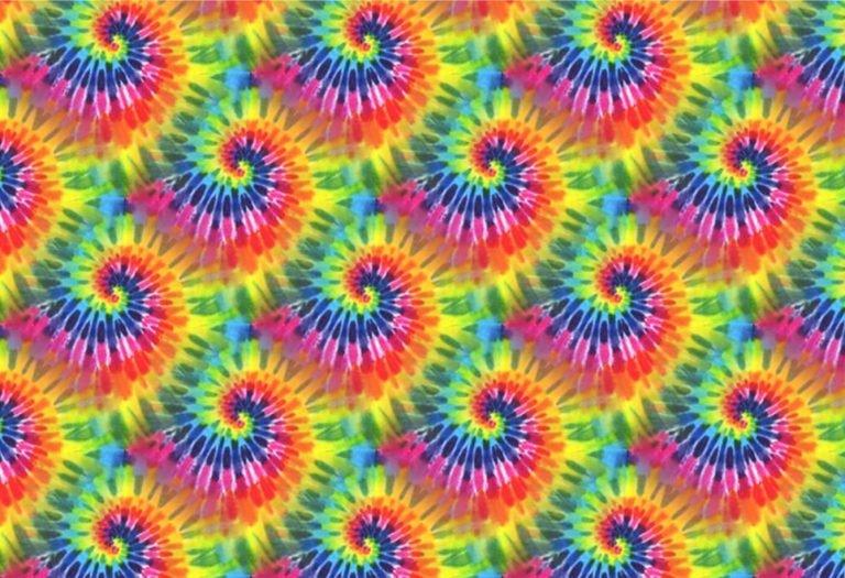 Fashion Print Tie Dye