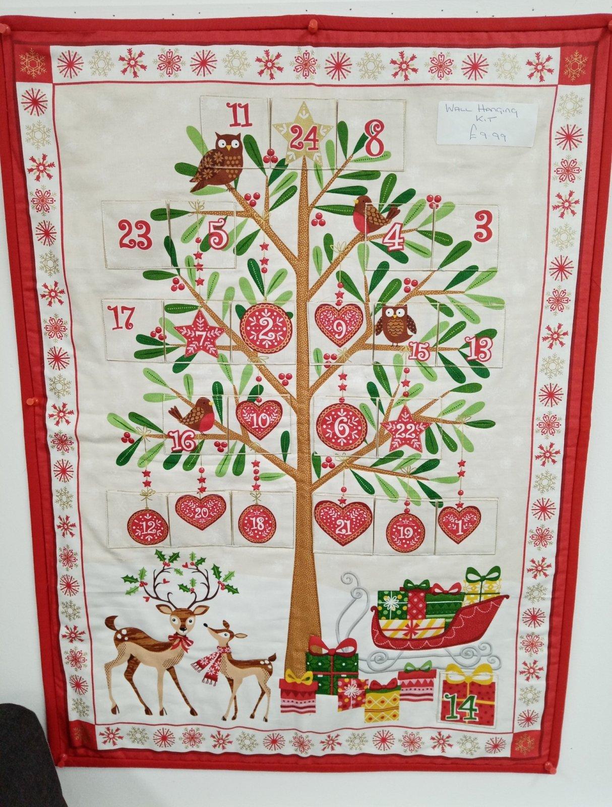 Makower Advent Tree Panel