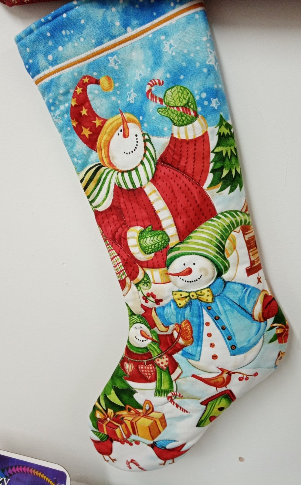 Christmas Stocking Panel