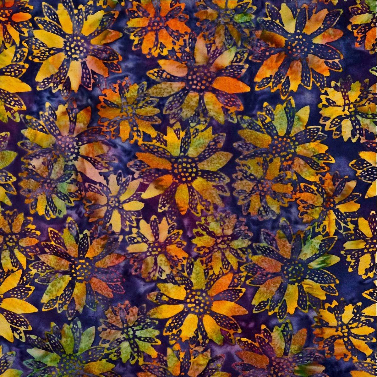 Batik Mirah Violet Fugue