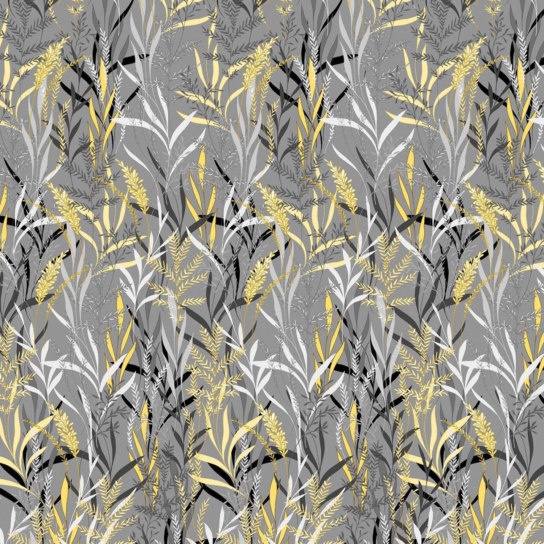 Kanvas Pearl Willow Gray/Yellow (Limoncello)
