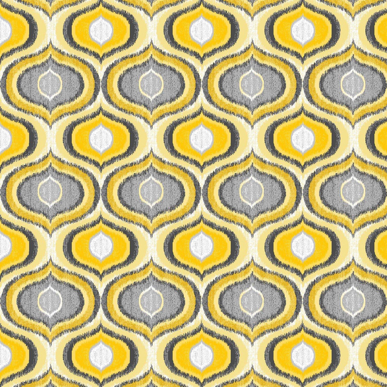 Kanvas Pearl Ogee Yellow (Limoncello) 7744P-33