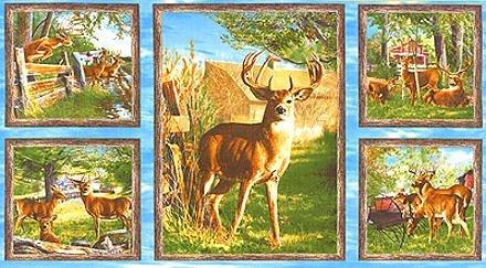 Deer Panel 90203 427