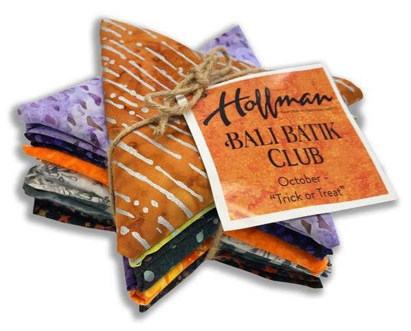 Hoffman Bali Batik Club Oct. Trick or Treat