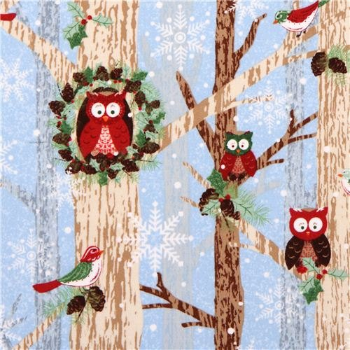 Woodland Christmas Owls 7249 11