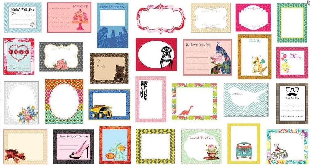 Quilt Labels Multi