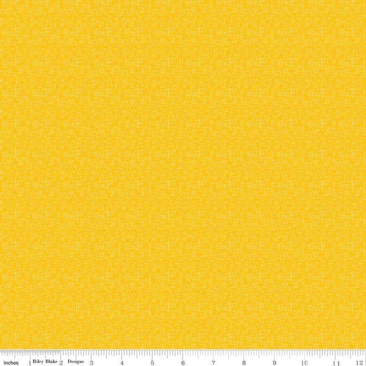 Riley Blake Hashtag Mustard