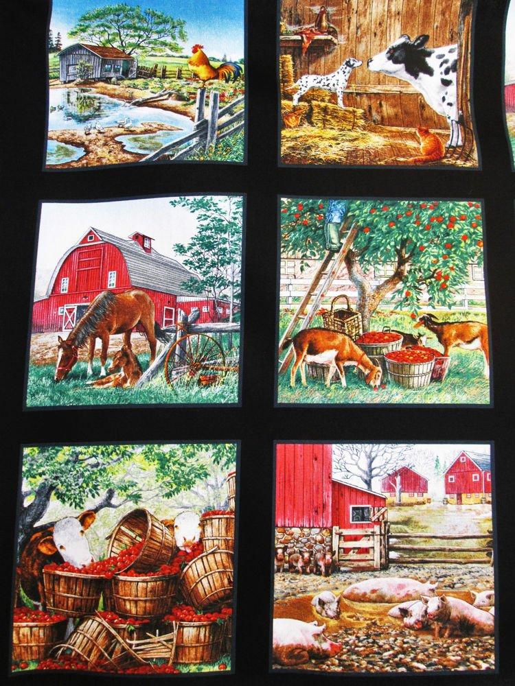 Farm Life Black Panel