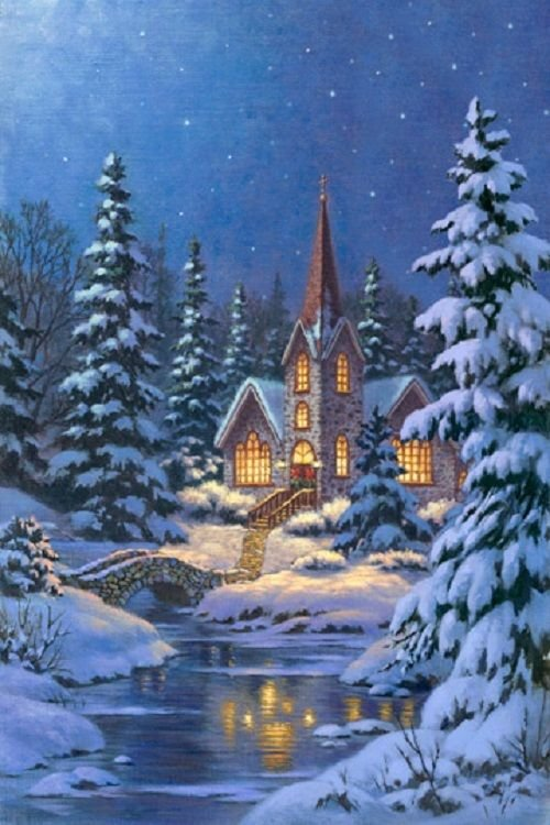 Silent Night Digital Panel 21658 44
