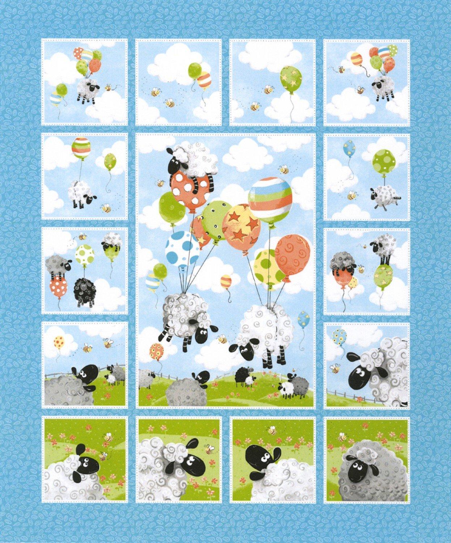 Susybee Lewe's Balloons Quilt Panel 20290-950