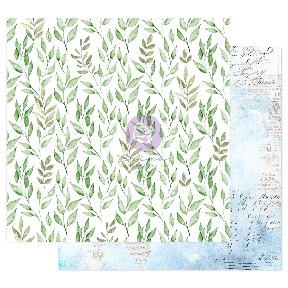 Prima Watercolor Floral Peaceful Blilss