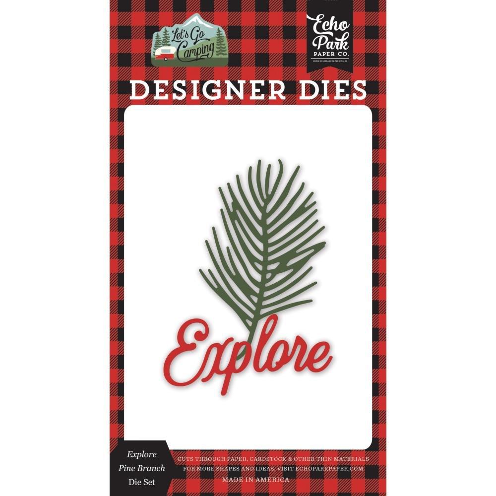 Explore Pine Brance Die Set