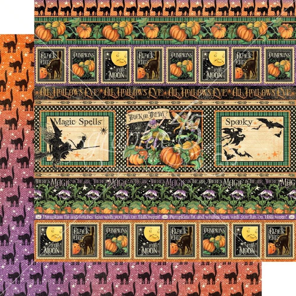 Midnight Tales Double-Sided Cardstock 12X12- Abracadabra