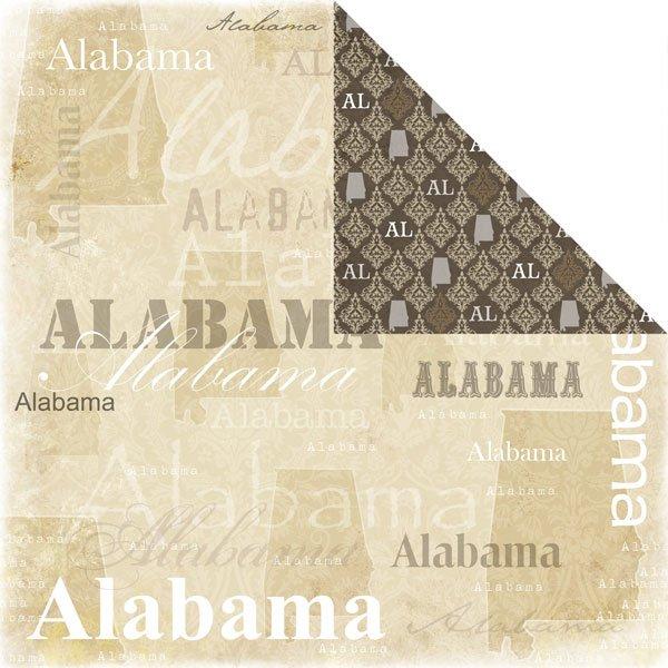 Alabama Lovely Paper