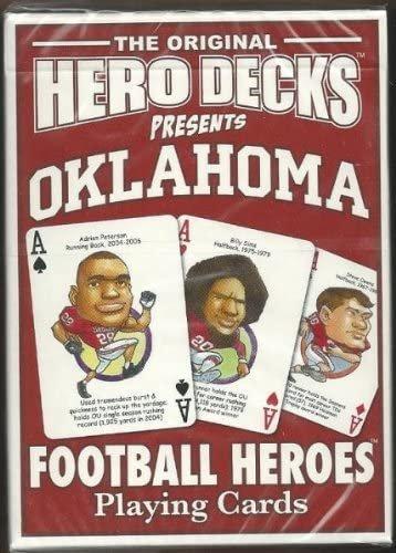 HERO DECKS -  OKLAHOMA FOOTBALL