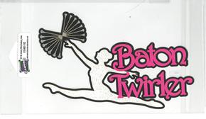 DIECUT -BATON TWIRLER