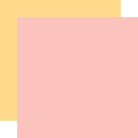 PPR - HELLO BABY IT'S A GIRL LIGHT PINK/YELLOW