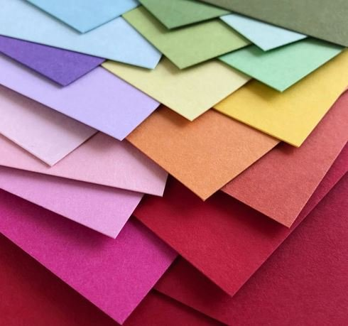 CARDSTOCK 12X12 ASSORTED 100PC  (colors vary)