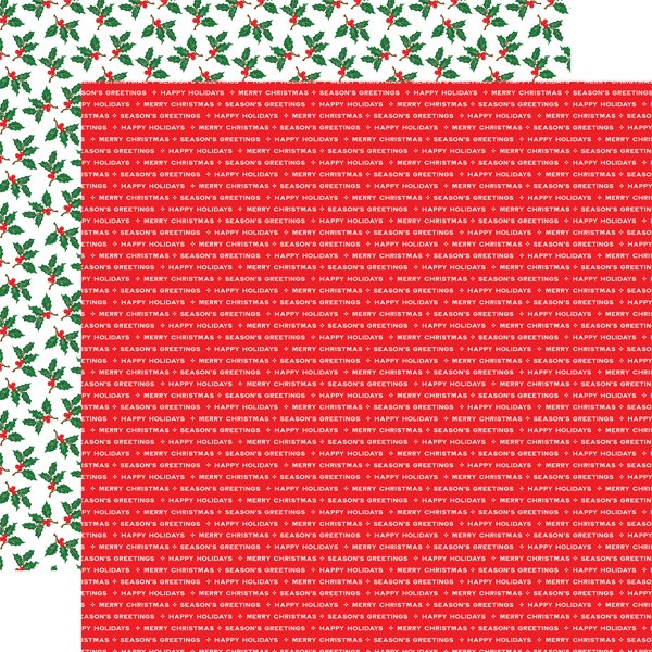 Echo Park CHRISTMAS CHEER SEASONS GREETINGS