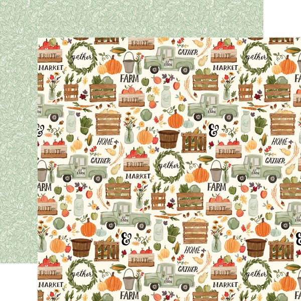 Hello Autumn Double-Sided Cardstock 12X12-Fall Harvest