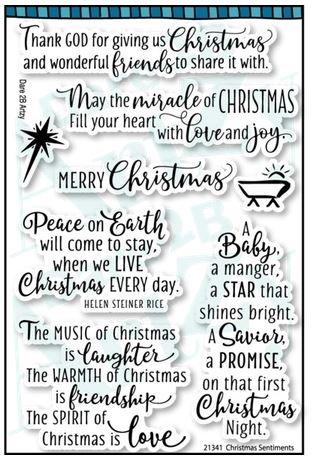 CHRISTMAS SENTIMENTS Stamp Set