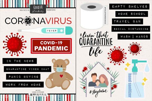 STKR - COVID-19 Stickers
