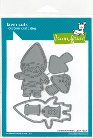 GARDEN GNOME DIE - Exclusive to celebrate Lawn Fawn's birthday!
