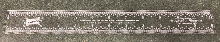 TOOL - CRAFTER'S ESSENTIAL RULER