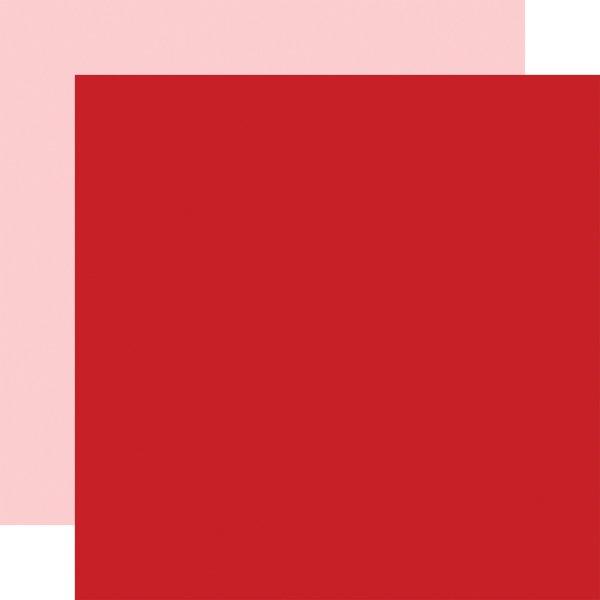 CUPID & CO DARK RED/LT PINK