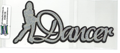 DIECUT - DANCER TITLE W/GIRL