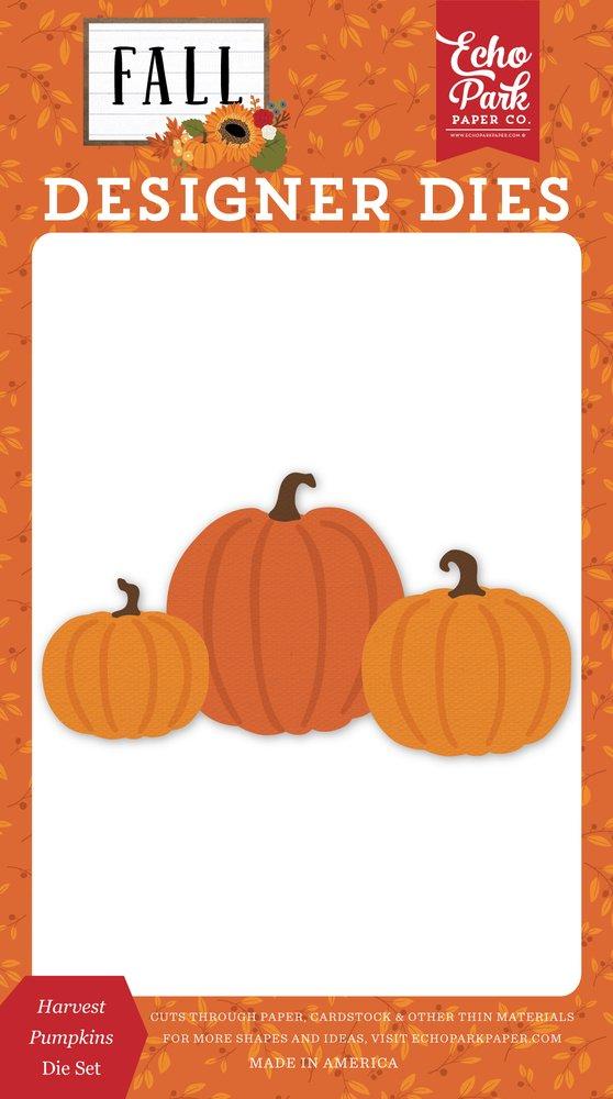 Echo Park Dies-Harvest Pumpkins