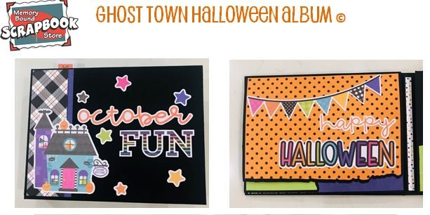 Ghost Town Album Photo Sheets