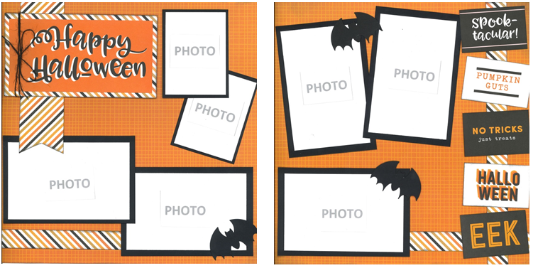 Happy Halloween Page Kit