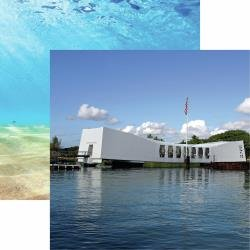 HAWAII USS ARIZONA MEMORIAL12X12 PAPER