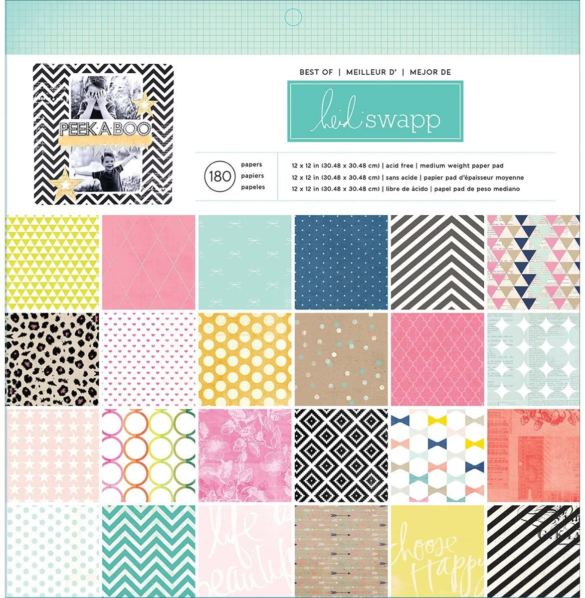 SPECIAL OFFER! Heidi Swapp's Favorites Paper Tablet