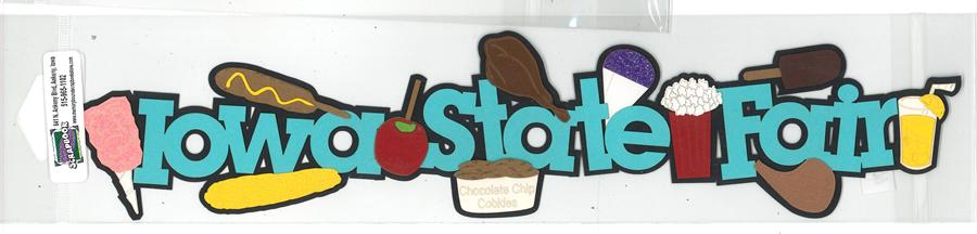 DIECUT- IOWA STATE FAIR W/FOOD BORDER