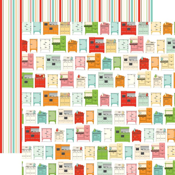 Farm To Table Double-Sided Cardstock 12X12-Kitchen Craze