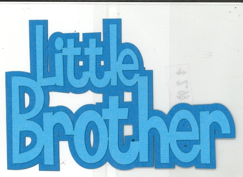 DIECUT- LITTLE BROTHER