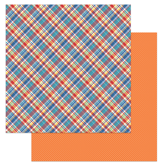 Living The Quarantine Life Double-Sided Cardstock 12X12- Plaid 19