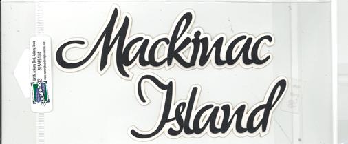 DIECUT - MACKINAC ISLAND