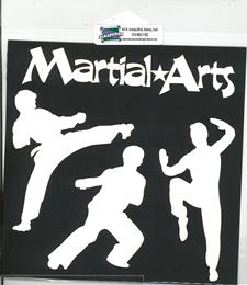 DIECUT - MARTIAL ARTS FIGURES & TITLE