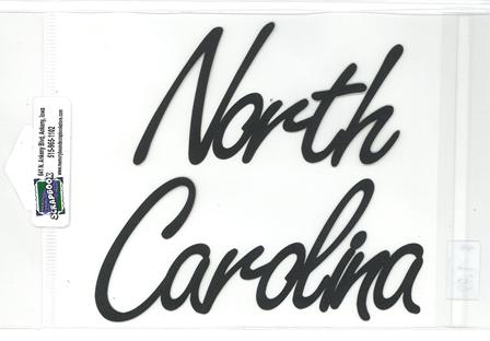 DIECUT TITLE-NORTH CAROLINA
