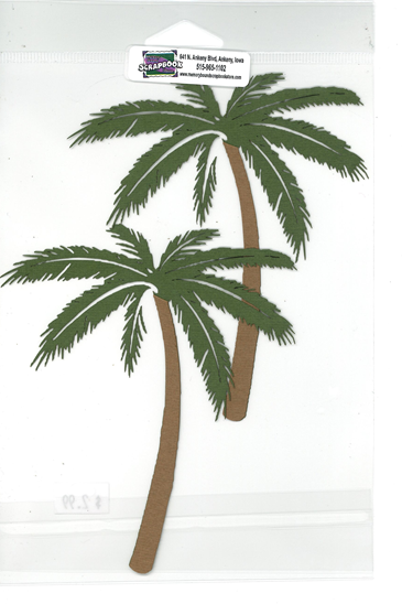 Palm Trees (2 pack)