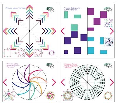 Pirouette Pattern Templates