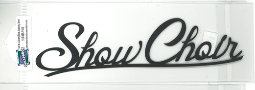 DIECUT - SHOW CHOIR TITLE