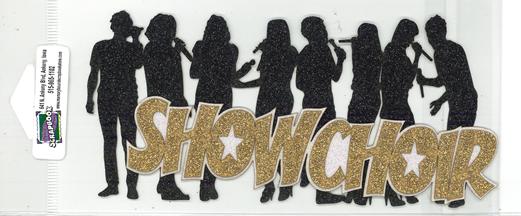 DIECUT- SHOW CHOIR WITH SINGERS