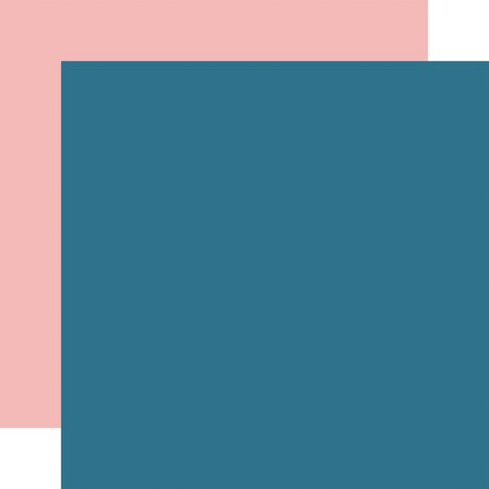A Slice Of Summer COORDINATING SOLID BLUE/PINK